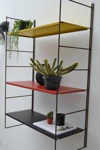 Extra Large Tomado Vintage Dutch Wall Shelving - 1950's - SOLD