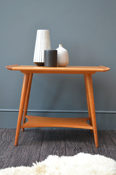 English Oak Vintage Side Table - 1950's SOLD OUT
