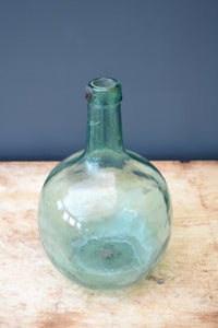 French Vintage Glass Demi-John - SOLD