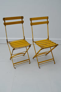 etcetera interiors - vintage french bistro chairs 1930's