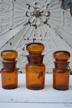 Apothecary Bottles - Set of 3 - SOLD