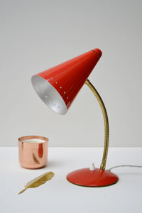 Dutch Mid Century Desk Lamp by Hala Zeist - SOLD