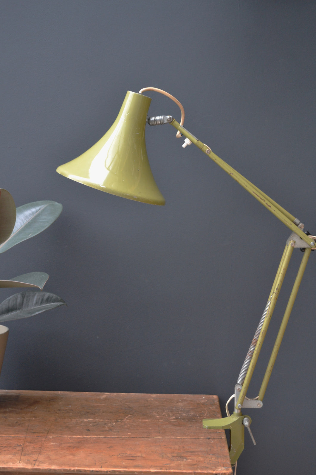 Industrial Anglepoise Clamp Lamp - SOLD