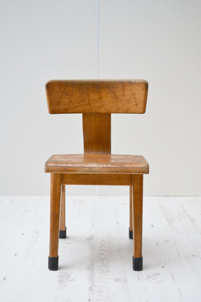 Vintage Dutch Child's Bent-Ply Chair - 1960's - SOLD