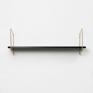Urban Nomad Wall Shelf - Icelandic Design - Gold/Black- large - Norr - nordic life and design