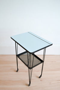 Vintage French Trolly Table By Mathieu Matégot For Artimeta - 1950's - Mid Century Modern