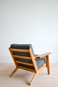 Danish Hans Wegner GE290 (Plank Chair) Low Lounge Chair - 1960's Mid Century Modern SOLD