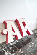 Vintage French Lightbox letters - Original 1960's