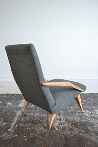 Vintage Italian Lounge Chair - Original 1950's - SOLD