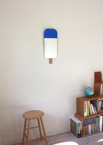 Ice Cream Mirror - Ocean Blue - Danish Designed