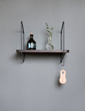 Urban Nomad Wall Shelf - Icelandic Design - Black/Black- Small - Norr - nordic life and design