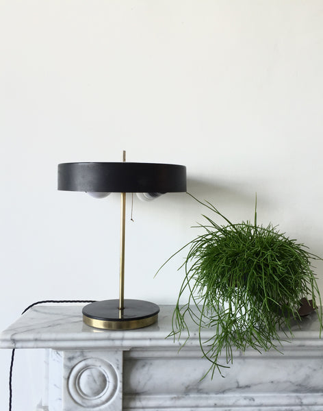 Vintage Dutch Desk Lamp by Hala 1950's Mid Century Modern