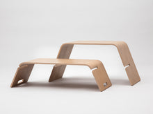 Oak Side Table/Stool/Unit - The Embrace By John Green