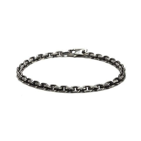 Sterling Chain Bracelet with Lobster Clasp