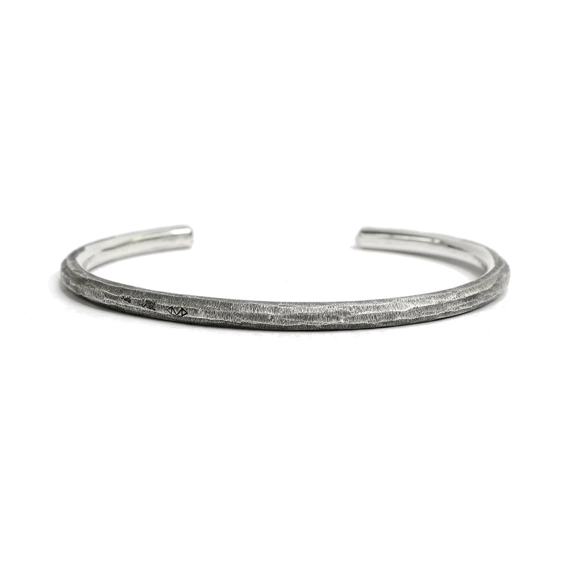 Rippled Sterling Silver Cuff