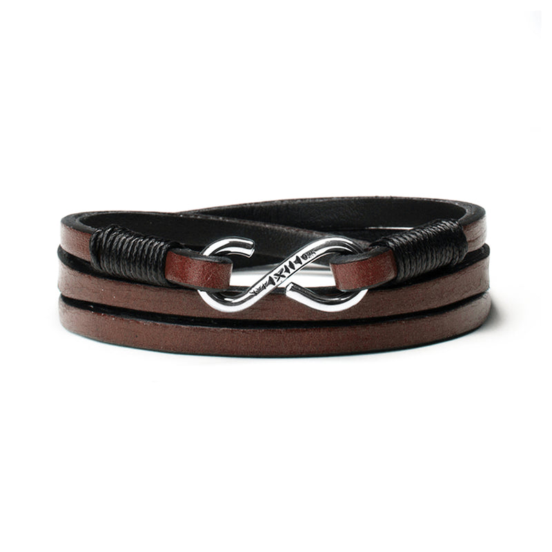 Handcrafted Leather Strap w/ Sterling Clasp