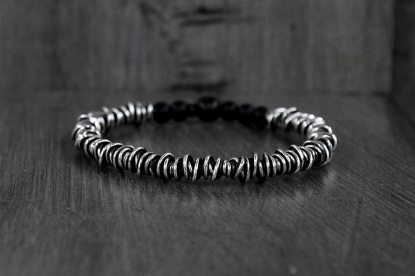 Sterling Wire Wrap Bracelet