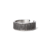 Etched Sterling Silver Ring