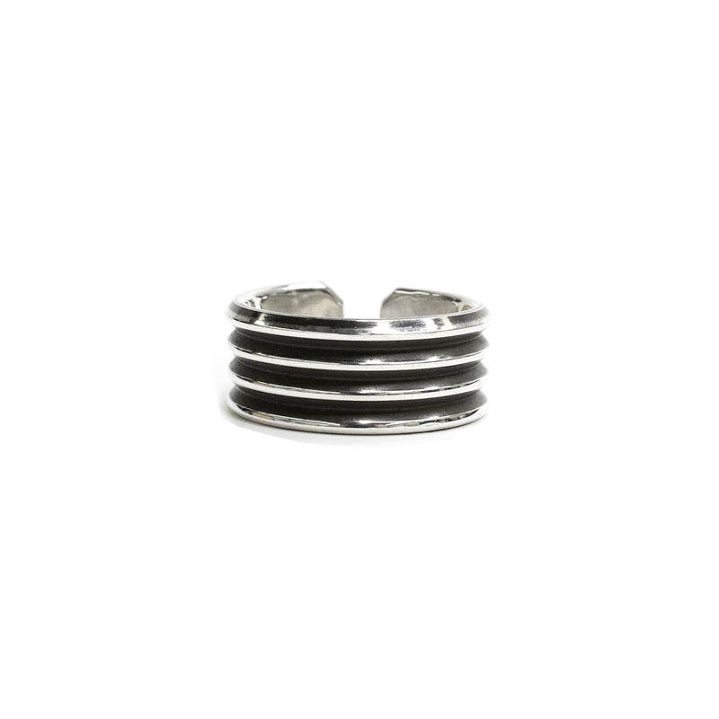 Knife Edge Sterling RIng