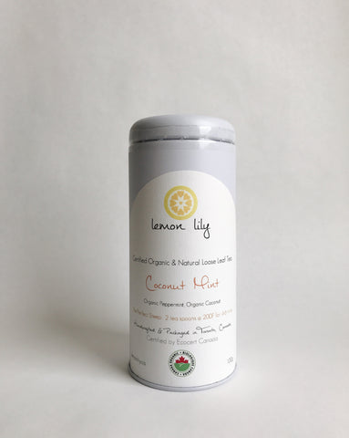 Organic Coconut Mint Tea
