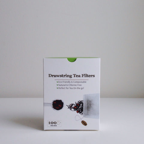 Drawstring Tea Filters 100 Pack - Be Naturally Prepared