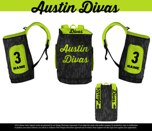 Load image into Gallery viewer, Austin Divas XL Backpack