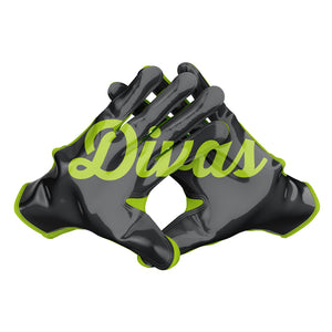 Austin Divas Football Gloves