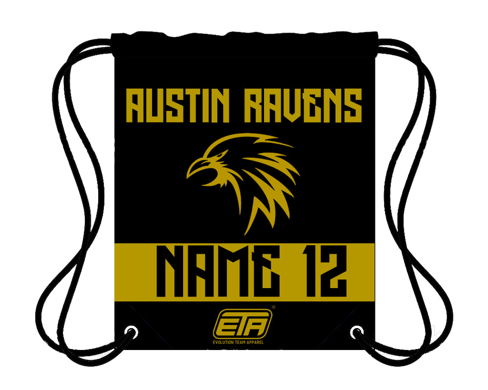 Load image into Gallery viewer, AUSTIN RAVENS CINCH BAG