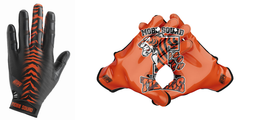 Load image into Gallery viewer, MOBB SQUAD FOOTBALL GLOVES