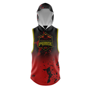 Load image into Gallery viewer, NASHVILLE PURGE SLEEVELESS HOODIE