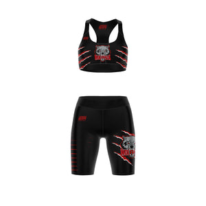 Load image into Gallery viewer, HOUSTON WOLFPACK SPORTS BRA SET
