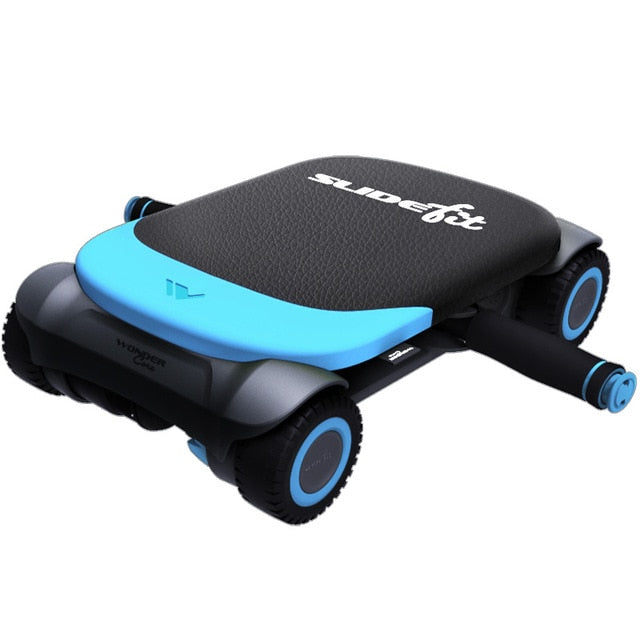 Multi-functional Noise-free Four-wheeled Abdominal Wheel Ab Roller