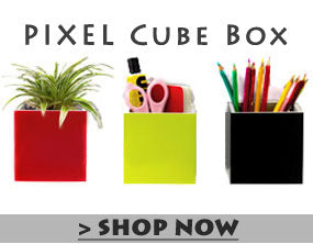 Qualy Pixel Cube Box Wall Shelf