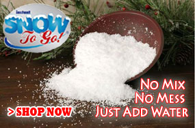 Instant Snow to Go Artificial Snow Powder
