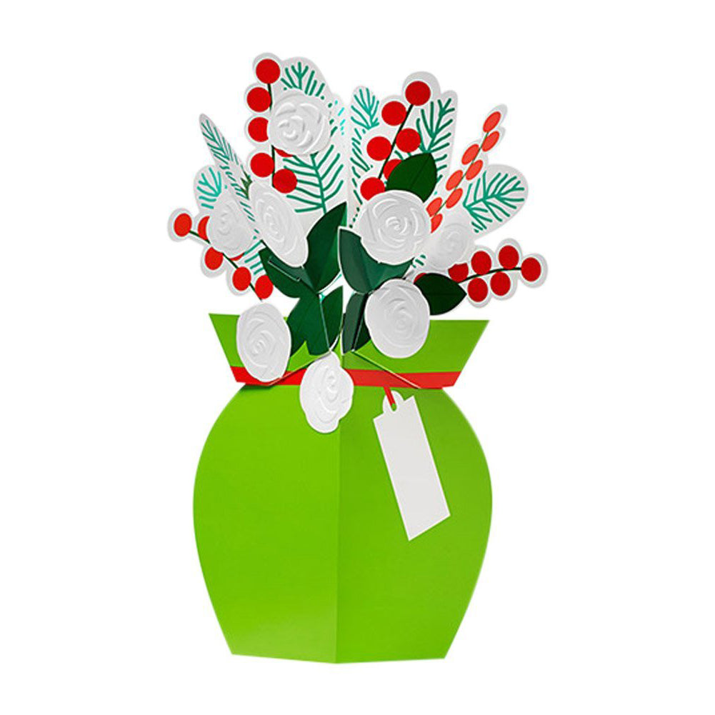 Winter Flowers 3D Pop Up Holiday Christmas Cards by MoMA - zillymonkey