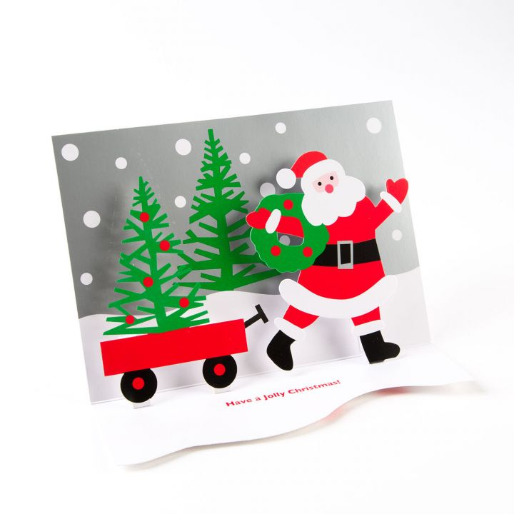Shop moma home decors gifts today zillymonkey santas wagon boxed holiday cards by moma m4hsunfo Image collections