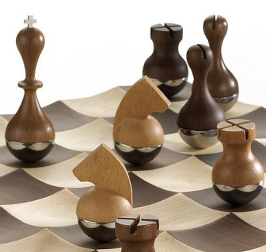 Contemporary modern stylish home decor accessories page 4 zillymonkey - Wobble chess set by umbra ...