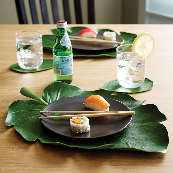 Balihai Tropical Banana Leaf Table Runner Zillymonkey