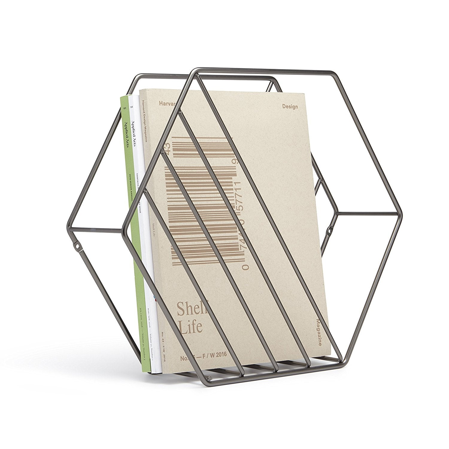 Trigon Magnetic Bulletin Board By Umbra For Modern Home Zillymonkey Wiring Diagram Zina Magazine Rack Record Holder