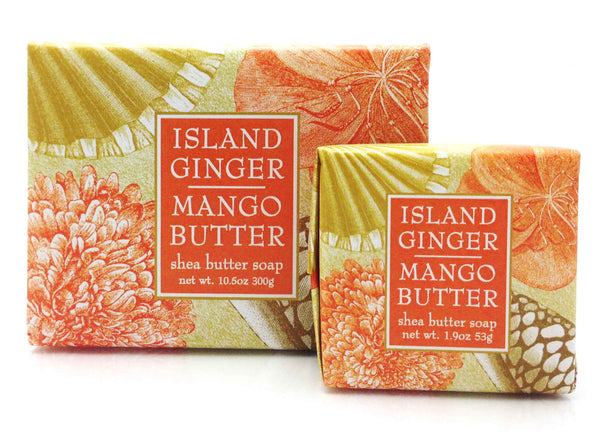 Island Ginger Mango Butter Soap By Greenwich Bay Trading