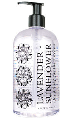 Lavender Sunflower Kitchen Hand Soap by Greenwich Bay Trading Co