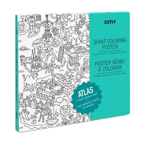 OMY The Original XXL Coloring Posters & Fun Products | zillymonkey