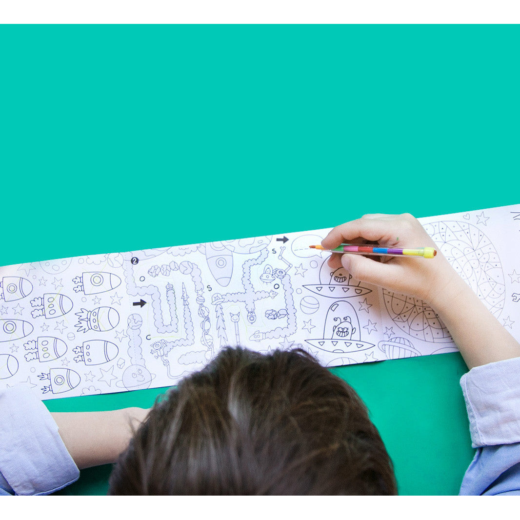 OMY The Original XXL Coloring Posters & Fun Products   zillymonkey