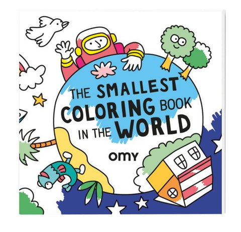 The Smallest Coloring Book In World By OMY
