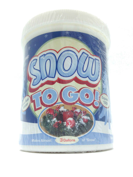 Instant Snow To Go Fake Snow Powder Zillymonkey Com