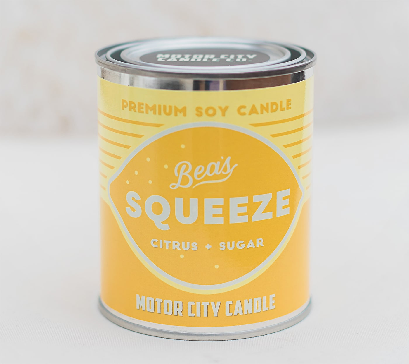 Vintage Oil Can Candle