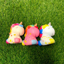 Load image into Gallery viewer, 3 Unicorn Squishies