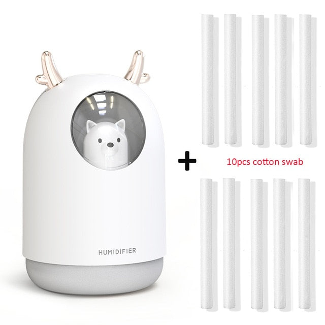 Curious Cat - 300ml Essential Oil Diffuser