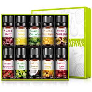 Fruity Essential Oils - 10 Piece Set