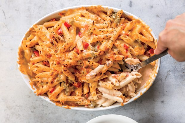Baked Penne & Green Chile